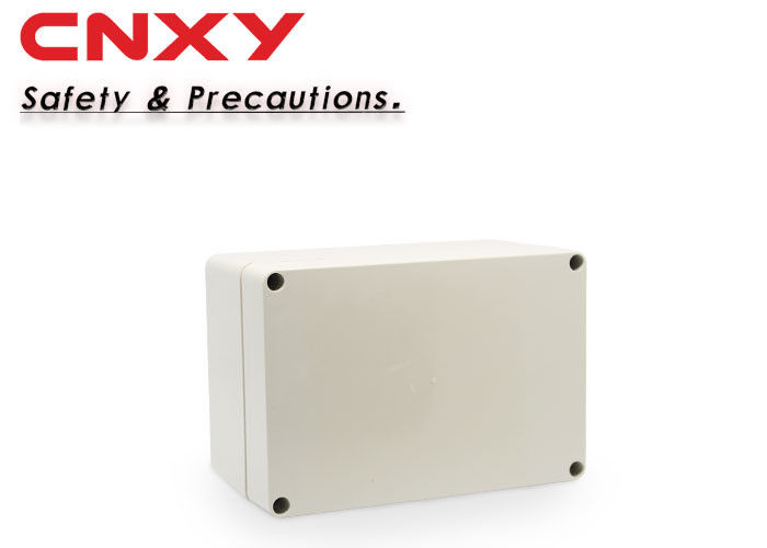 High Insulation Small Weatherproof Junction Box Printed Logo Easy Installation