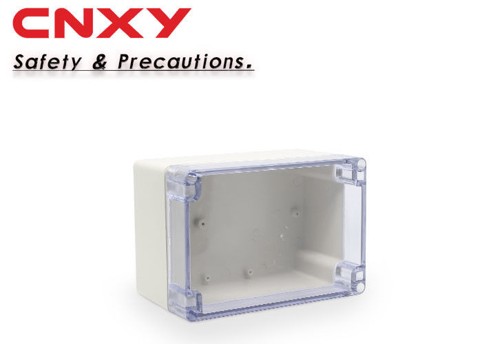 ABS Material Plastic Electrical Boxes , Waterproof Junction Box With Sealing Ring