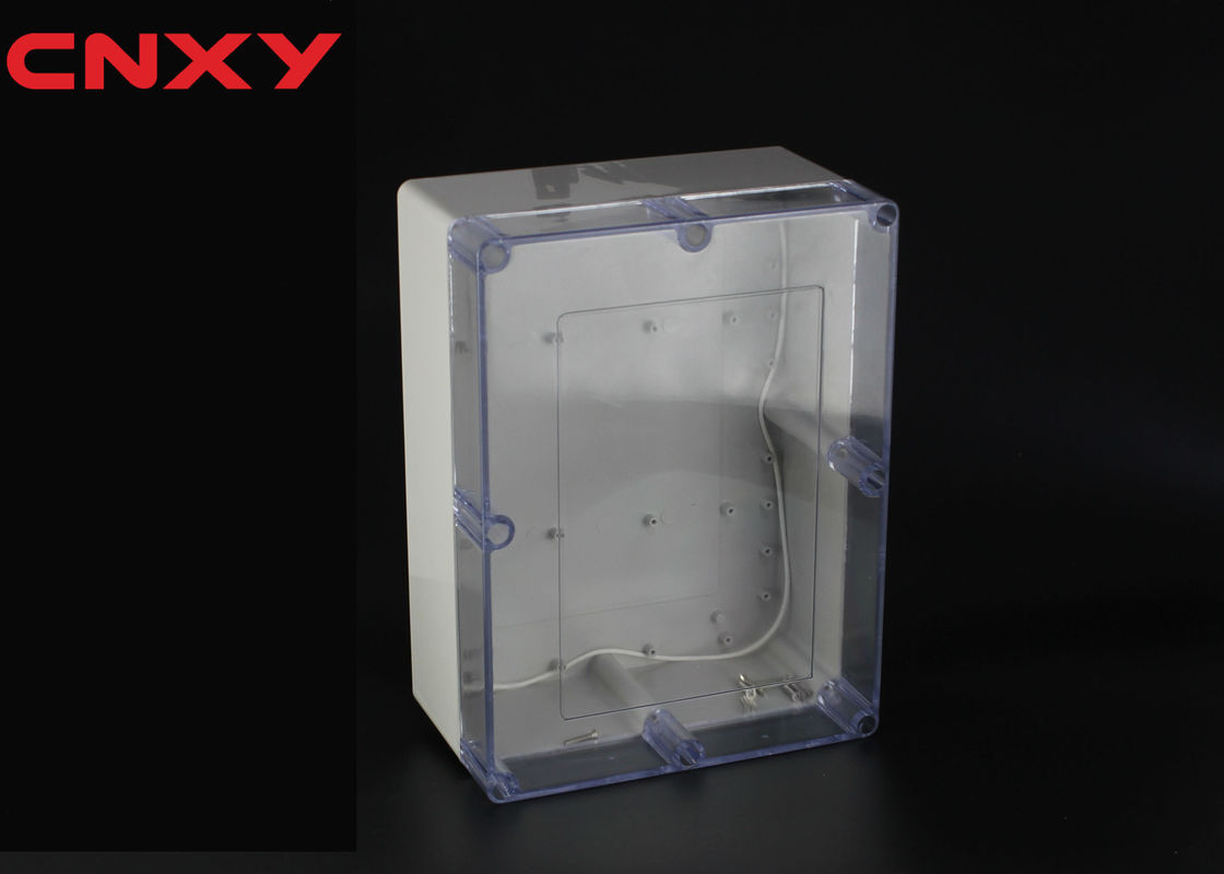 780 G Rectangular Transparent Junction Box Hole Drilling Wear Resistant