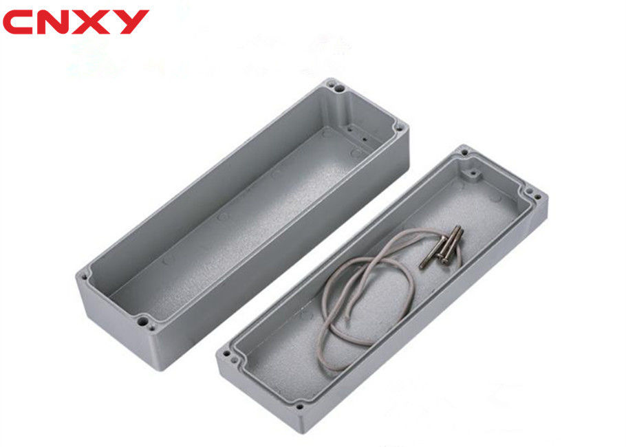 Dustproof Grey Cable Connection Box 265*185*130 Mm Easy Processing